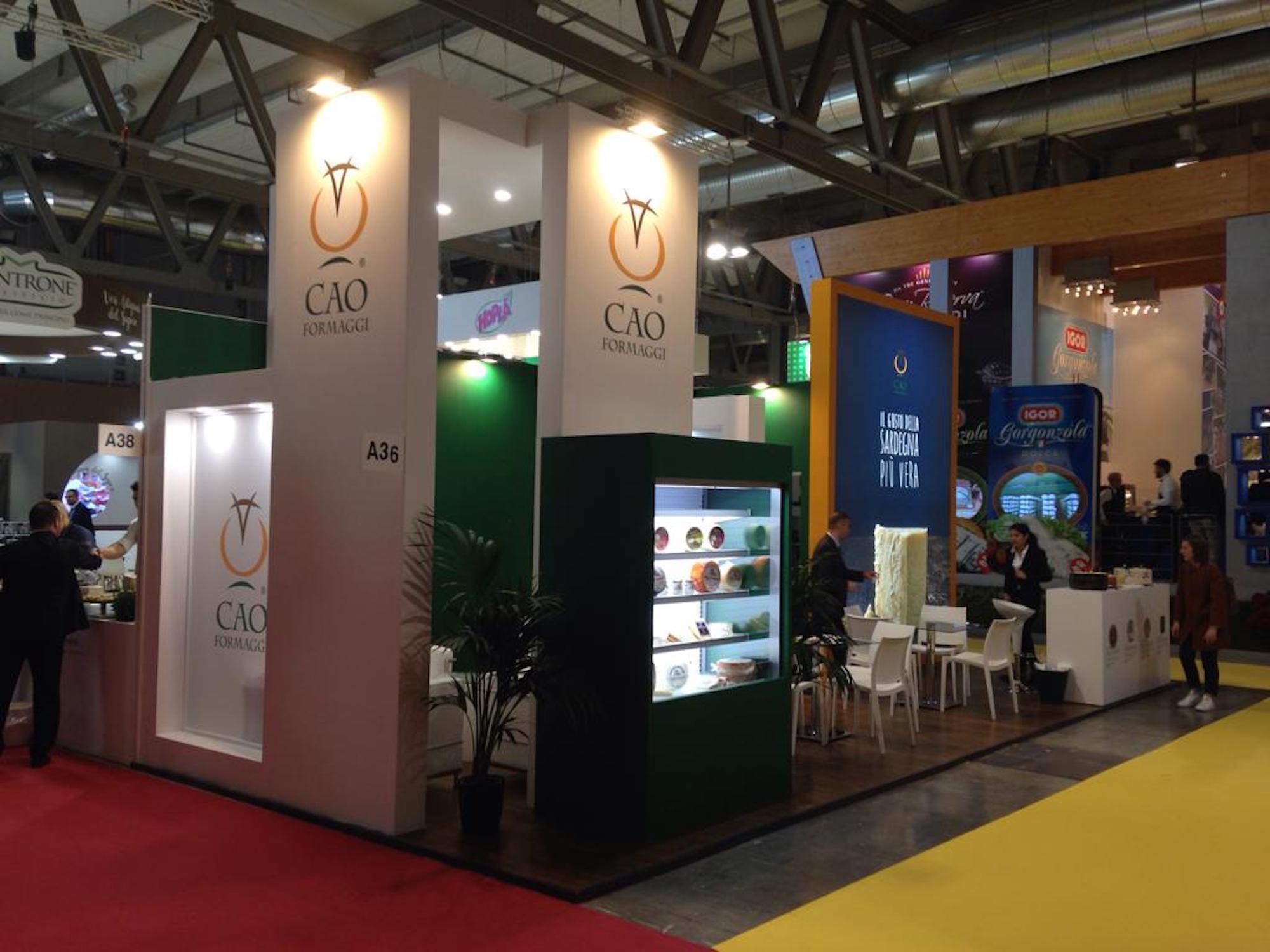 Tuttofood Milano 2019 - CAO Formaggi   Sermedia Srl